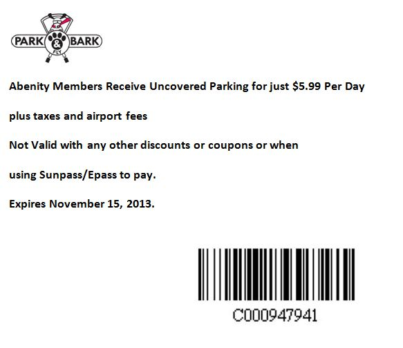 Mco parking coupons